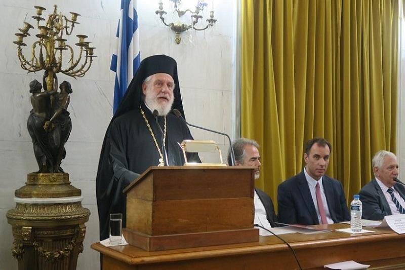Με απόφαση της Ιεράς Συνόδου ο Σεβασμιώτατατος κ. Δωρόθεος Β΄ ομίλησε προς τους δικαστές όλης της χώρας στην παλαιά Βουλή (Ολόκληρη η Ομιλία)
