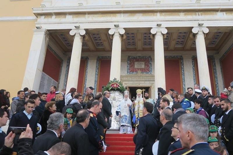 Νεφοέσσα η Ερμούπολη εόρτασε τον Πολιούχο της Άγιο Νικόλαο