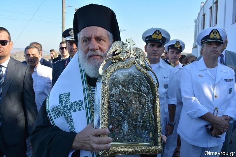 Χιλιάδες λαού συνόδευαν την Αγία Εικόνα στην Ιερά Μονή Κεχροβουνίου