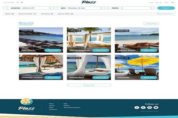 Plazz: Η νέα ελληνική ψηφιακή πλατφόρμα για να κλείνεις ξαπλώστρα στην παραλία [Video]