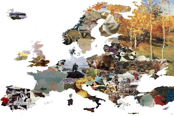 Ενας χάρτης δείχνει τα σημαντικότερα έργα τέχνης της Ευρώπης - Το αγαπημένο της Ελλάδας!!