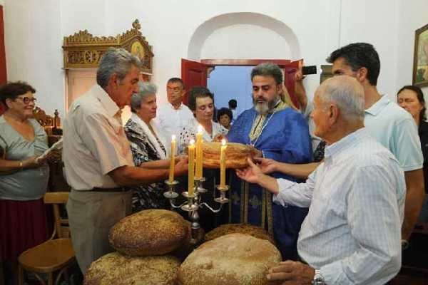 Πανηγυρικός Εσπερινός της εορτής της Κοιμήσεως της Θεοτόκου στην Παναγία Ελεούσα (Εικόνες & Videos)