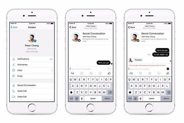 Facebook Messenger: Κρυπτογράφηση end-to-end και μηνύματα που αυτοκαταστρέφονται