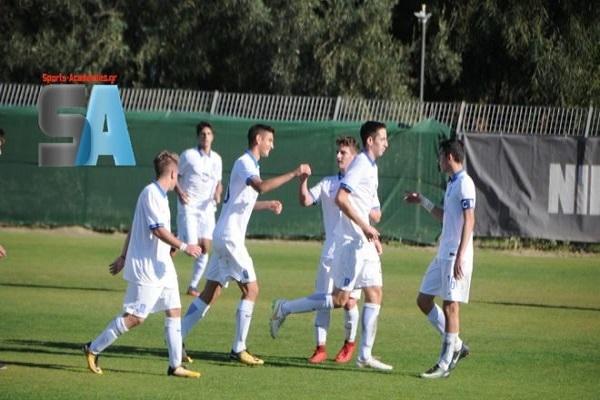 Κ17: Εθνική Παίδων-Ατρόμητος 2-2