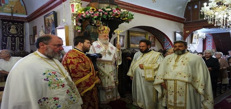 Η Μύκονος Τίμησε τη Μνήμη της Αγίας Μεγαλομάρτυρος Κυριακής (Εικόνες + Video)