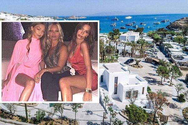 Gigi Hadid, Emily Ratajkowski, Kate Moss Dazzle Greece's Mykonos [Pics+Videos]