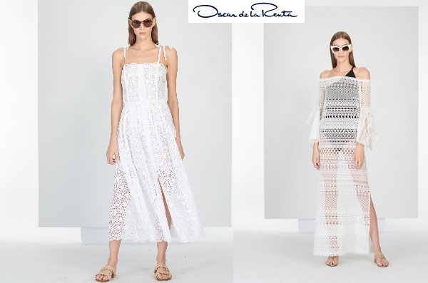 This new capsule collection of Oscar de la Renta is inspired by Mykonos