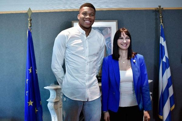 Giannis Antetokounmpo features in new video promoting Greek tourism [Video]